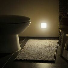 LED Night Lamp Light Smart Motion Sensor Bedside Bed Room Toilet Hallway Lamp