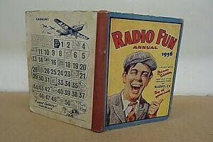 1956 RADIO FUN ANNUAL.