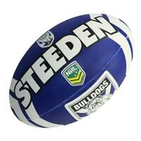 Steeden NRL Bulldogs Supporter Ball - Size 5 - Rugby League Football