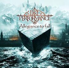 LAST PERFORMANCE Allegiance to Fall CD 2017 (Female Vocal Gothic Metal) lunatica