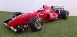 F1 FERRARI 1996 F310 #1 SCHUMACHER BARCELONA 1/18 MINICHAMPS 510961811 formule 1