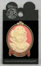 Disney Princess Porcelain Cameo Series Snow White & Seven Dwarfs 3-D Pin CUTE