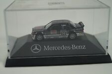 Herpa Modellauto 1:87 H0 Mercedes-Benz 190 E 2.5-16 Nr. 14 Asch