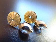 Mode-Ohrschmuck aus Glas mit Kristall für Damen