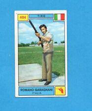 CAMPIONI SPORT 1969-70-PANINI-Figurina n.404- GARAGNANI -ITALIA-TIRO-Rec