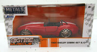 1965 Shelby Cobra 427 S/C ~ Red ~ Metals Die Cast Car ~ Big Time Muscle