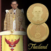 WR Thailand GOLD Foil Coin King Rama 9 88th Birthday Commemorative Gift