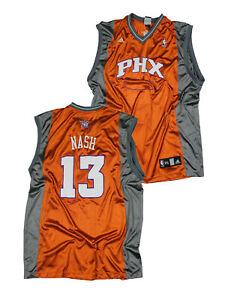 Adidas NBA Basketball Mens Phoenix Suns Steve Nash #13 Jersey, Orange