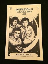 1980 Shuttlecon Ii Program F- Condition