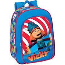 Vicky el Vikingo-Grande Acolchado Mochila con bolsillos fuerte-size: 28x35x11cm
