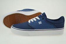 DC Shoes Mikey Taylor Vulc Sneaker Skate Schuhe US 7 EU 38 Blue / White