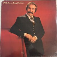 """MARTY ROBBINS """"WITH LOVE """" VINTAGE LP - 12"""" FACTORY SEALED"""