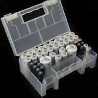 NEW Portable Hard Plastic Case Storage Box Holder Organiser for AA AAA Battery