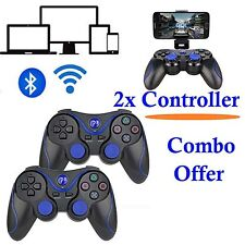 2x Wireless Bluetooth Gamepad Game Controller For Android TV Box Tablet PC US
