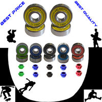 Abec 11 608 Wheel bearing Skateboard stunt scooter Quad inline Roller skate 9