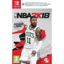 Jeu Nintendo Switch NBA 2k18