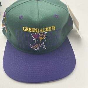 Vintage Augusta Greenjackets SnapBack Hat Cap NWT