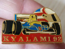 PIN'S F1 FORMULA ONE WILLIAMS GRAND PRIX DE KIALAMI 92 CASQUE MANSELL NIGEL