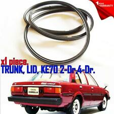 For Toyota Corolla KE70 Sedan KE70 2Dr 4Dr Weatherstrip Trunk Lid Rubber Seal