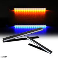 """6"""" Slim Switchback Amber Turn Signal/Blue DRL LED Bar Daytime Running Light"""