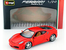 BBURAGO 18-26008 FERRARI F-430 COUPE 1/24 DIECAST MODEL CAR RED