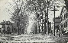 c1907 Postcard; Prospect Street Scene, Somersworth NH Strafford County Unposted