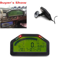 9000rpm Tacho Car Dash Race Display Sensor Kit Bluetooth LCD Screen Rally Gauge