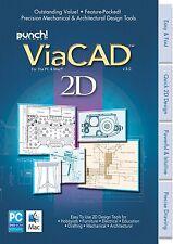 Punch Viacad 2D Pc Mac V8 *New,Sealed*