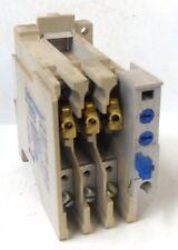 EATON CUTLER HAMMER C306DN3 OVERLOAD RELAY, SER. B1, 1.5-3 AMP, 600 VOLTS