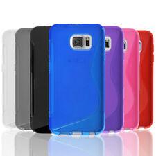 Slim Gel Case Tough TPU Hybrid Cover for Samsung Galaxy S5 S6 Edge S7 S8 Plus