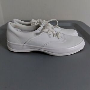 Keds Champion Youth Girls Size 6S Slim Width Shoes White Low Top Comfort Sneaker