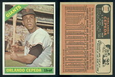 (43247) 1966 Topps 132 Orlando Cepeda Giants-EM