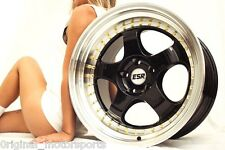 "ESR SR06 Wheels S13P 18"" 5x100 5x114.3 5x120 Suit RX7 GTR 2JZ RB26 WORK MEISTER"