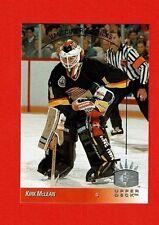 1993-94 Upper Deck SP insert # 165 Kirk McLean VANCOUVER CANUCKS GOALIE