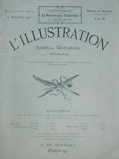 L' ILLUSTRATION No 4210 . 10 novembre 1923 . La republique d' Aix la Chapelle .