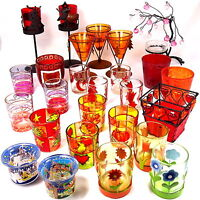 verschiedene Teelichthalter Windlicht Teelichtgläser Windlichter Kerzenhalter