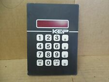KEP Digit LED Display Keyboard K-PC 9000 KPC9000 Used