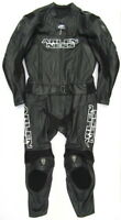 Top ARLEN NESS Black Star Gr. 48 Zweiteiler Lederkombi schwarz Leather Suit