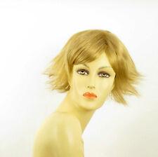 Perruque femme courte blond doré AMBRE 24B