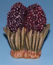 """Harmony Kingdom Garden box Hghy2 """"Hyacinth"""" flowers ladybug Lord Byron ret.1999"""
