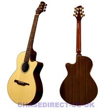 Guvnor By Chase GA777CE Electro Acoustuc Jumbo Guitar Cutaway Steel Strings