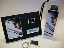 Edward Scissorhands 3 Piece Movie Film Cell Memorabilia Collection Gift Set Lot