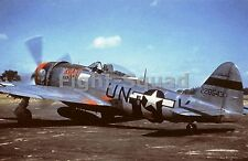 WW2 Picture Photo Republic P-47D Thunderbolt 56th Fighter Group  2125