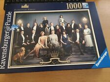 Ravensburger 1000 Piece Jigsaw Puzzle - Downton Abbey. Used Once