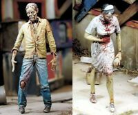 1/35 Resin Zombie is Coming 2 Figures Unpainted Unassembled BL744