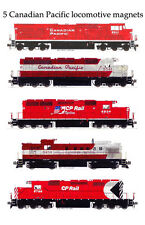 Canadian Pacific Locomotives set of 5 magnets Andy Fletcher