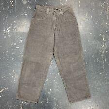 Interstate Baggy Wide Leg Corduroy Pants Skater Vtg 90s Usa Rave