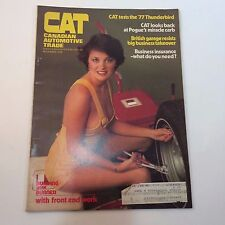 CAT Canadian Automotive Magazine November 1976 '77 Thunderbird