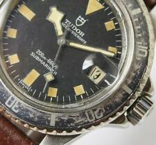 Diving Tudor Vintage Snowflake Submariner Black Dial / FD Bezel