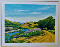 DAVID SKINNER Original OIL SIGNED Plein Air Painting PRIZE La Jolla Art Festival
